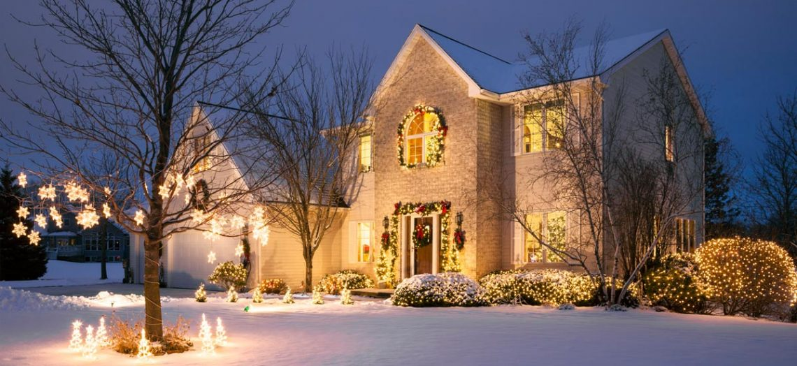 buy a home around the holidays