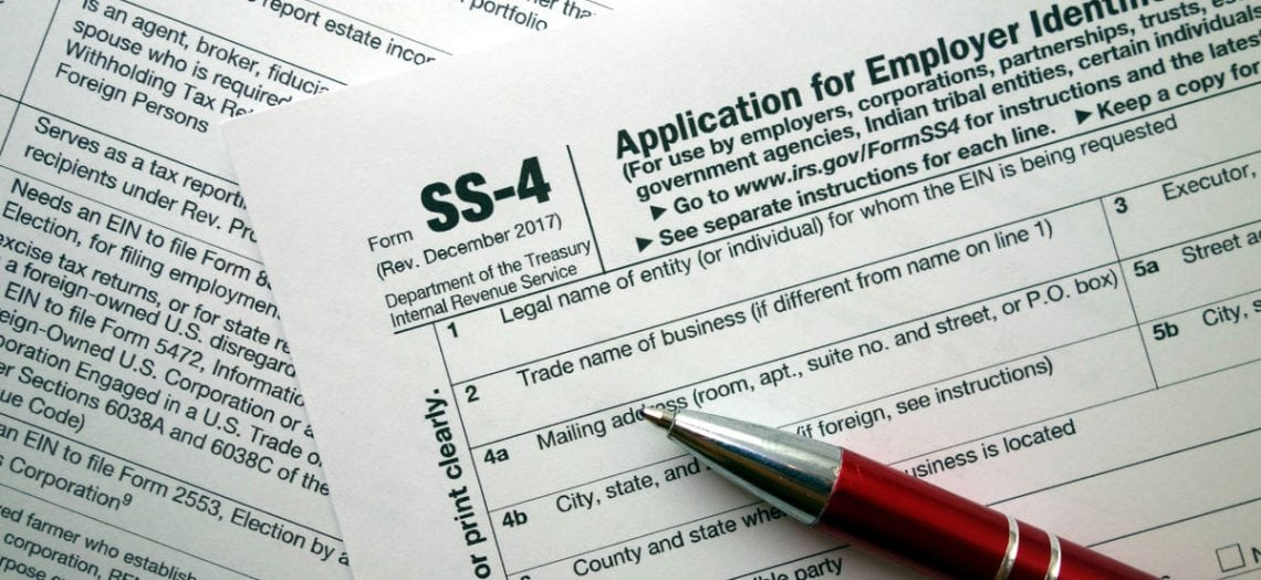 Irs Form Ss 4 Why Its Important For Your Small Business Lendingtree