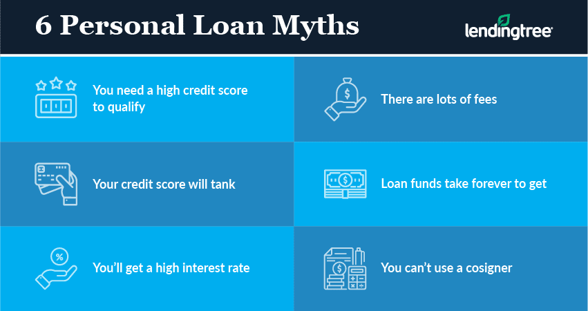 6 PERSONAL LOAN MYTHS
