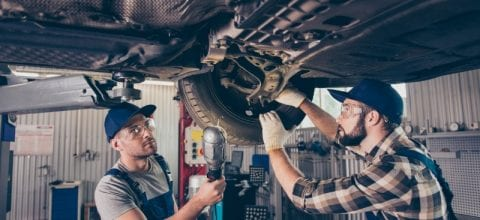 Costs to Repair a Car's Suspension