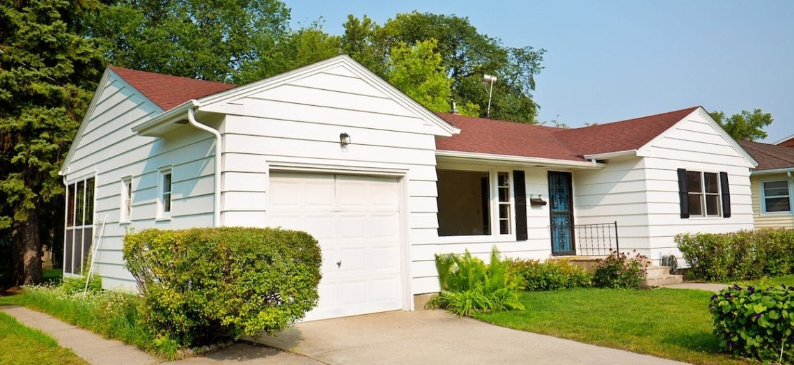 FHA loans mortgage bungalow
