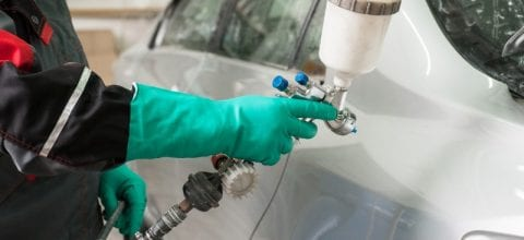Costs to Repair Damaged Car Paint