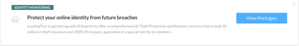 screenshot of ID monitoring